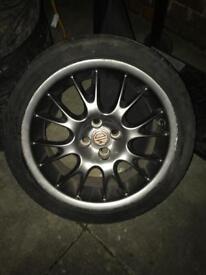MG 16 inch alloys