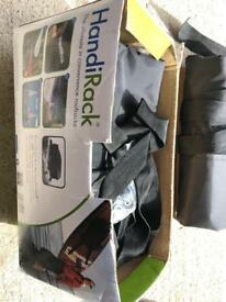 HandiRack inflatable roof rack. As new