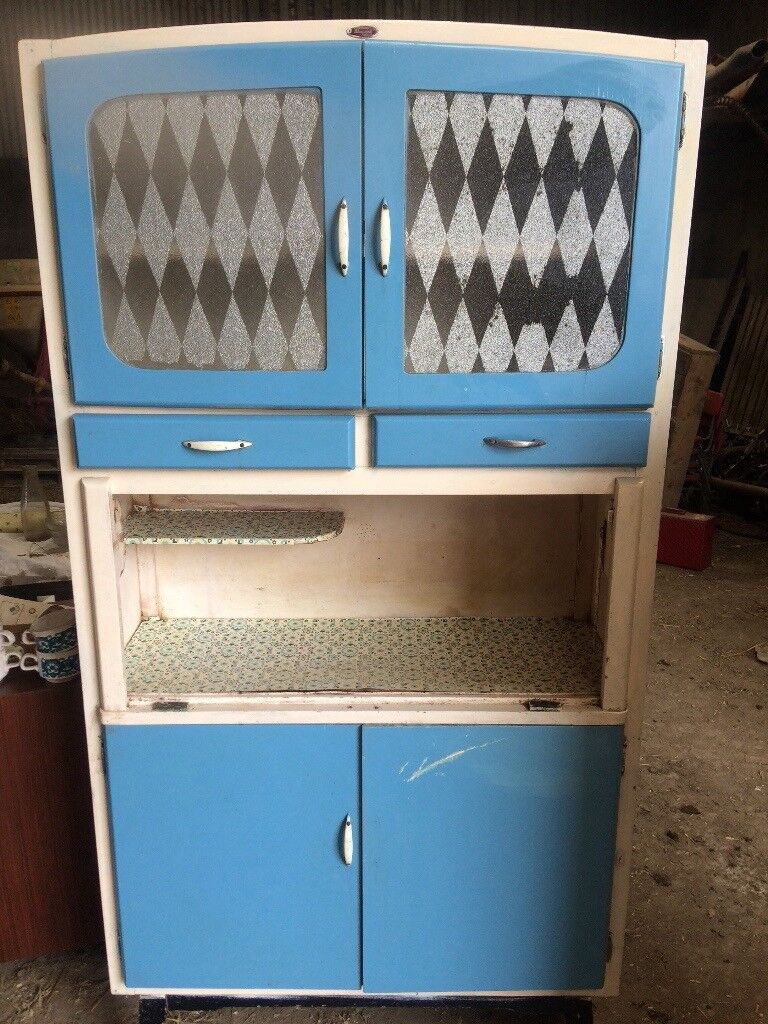 1950s retro vintage kitchen pantry larder | in Strabane, County ...