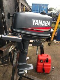 5Hp Yamaha 2Stroke Short Shaft 2007 Shipping available