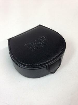 Dalys 1895 Wolf Designs Fine Leather Jewelry Case, Travel Holder Box Black
