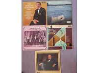 Job Lot 5(five) LP's Churchill Mantovani Scala Sibelius Grieg piano accordion