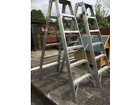 TWO CRAFT STEP LADDERS