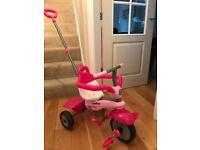 Pink Smartrike 3 in 1 Trike, barely used