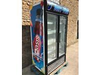 Oasis double drinks fridge