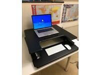 Duronic Sit-Stand adjustable desk workstation