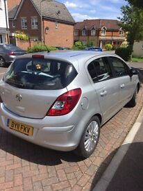 Vauxhall Corsa, 2011, 53000 miles, FSH, 12 months MOT, only 2 owners - excellent condition!
