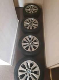 4 Genuine BMW alloy Wheels, 16inch