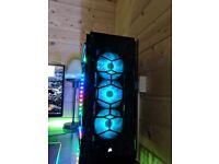 CUSTOM ULTRA FAST RGB GAMING PC GTX 1080 i7-6700k 32GB RAM