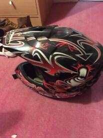 Motorcycle helmet (open to offers)