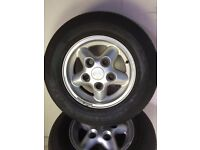 Land Rover Set of TD5 Alloy Wheels and Tyres
