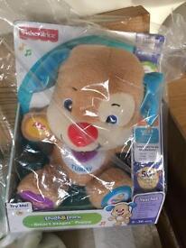 Brand new fisher price teddy