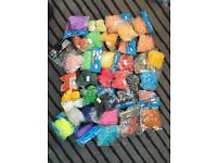 38 Packs of Rubber Bands in 36 colours for DIY Loom Bands