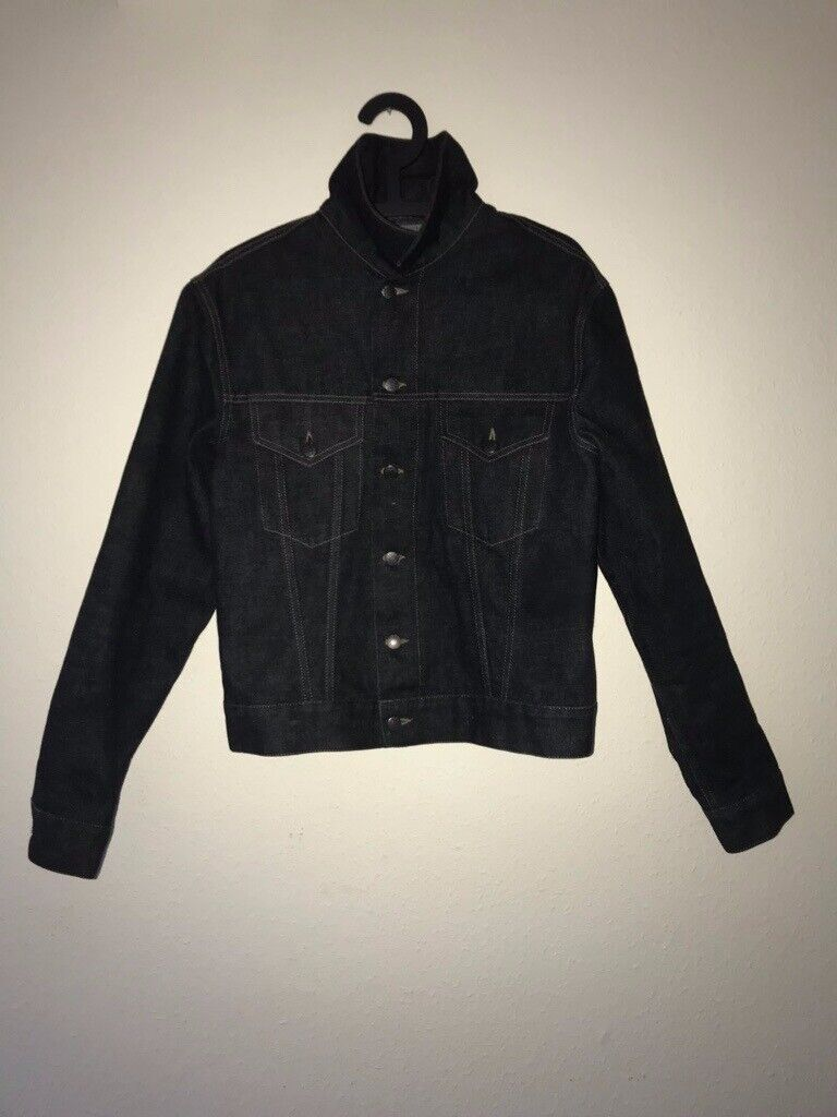 4ea915d2f Gucci denim jacket navy blue mens (BRAND NEW, NEVER WORN) Size M