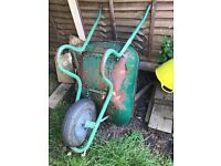 Wheelbarrow and other bits and pieces
