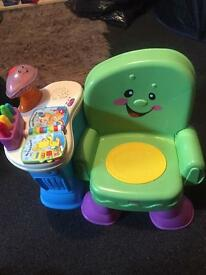 Learn and play chair