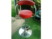 Kitchen tall swivel chair