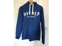 Heavy Rep Gear ( HVY REP ) Mens Small Hoodie - Blue Athletic Fitness