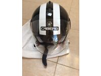 Motorbike Helmet, gloves and women jacket, chain and more