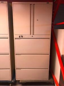 "Global 3 Drawer Lateral File with Storage on Top - 30""W - $275"
