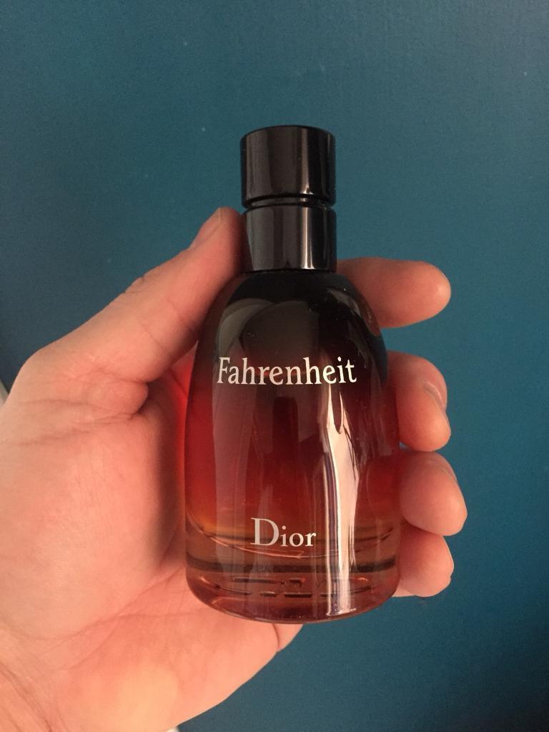 Dior Fahrenheit 75ml Spray Aftershave Parfum