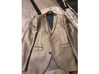 Next Men's Grey Suit