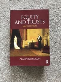 Equity and Trusts (9th Ed)- Alastair Hudson