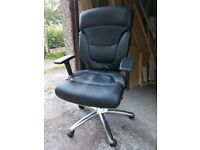 ****BRAND NEW***LEATHER LOOK ERGONOMIC OFFICE CHAIR