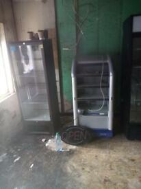 4 shop or pub fridges