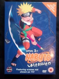 Naruto Unleashed DVD Series 2 Volume 1