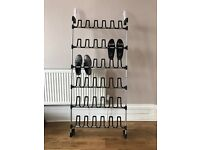 Suspended door shoes rack for 18 pairs