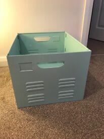 *SOLD* Metal Storage Box
