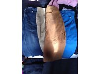 Age 10,11,12 and 13 jeans. 2 pound for the lot!
