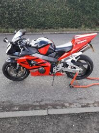 Honda 954 fireblade, very good condition
