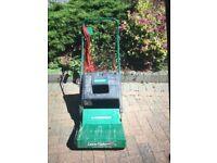 Qualcast electric lawn rake RE30/RE35