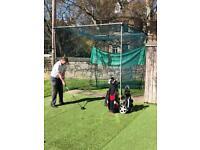 Golf net 10ft squared