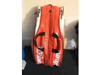 9 racket Wilson Tennis Bag