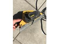 Dewalt 240v planer and makita multi tool 110v