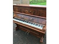 Waldemar walnut upright  Belfast Pianos