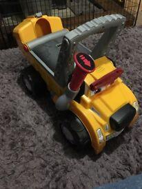 Ruff ride on car/ Walker/ push along toy