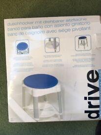 Drive rotating bath stool. BRAND NEW.