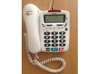Telephone Binatone Big Button phone ideal for the elderly