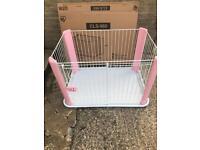 Iris pink dog pen/crate