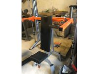 Plate Loaded Olympic Dual Grip Shoulder Press - Weights Gym