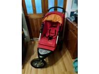 Mothercare Xtreme all terrain pram pushchair with extras