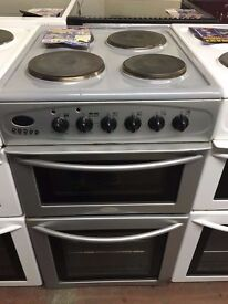 50CM BELLING GAS COOKER SILVER