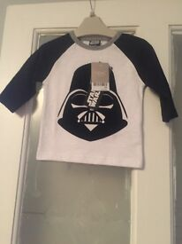 Boys next star wars tshirt