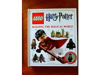 Lego book with mini figure