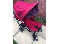 Silvercross Buggy, Pushchair with Raincover