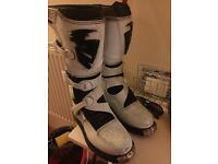 Thor Motocross Boots uk 7